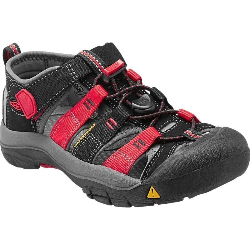 Keen Newport H2 Youth US 3/EU 35 Black/Racing Red Multi
