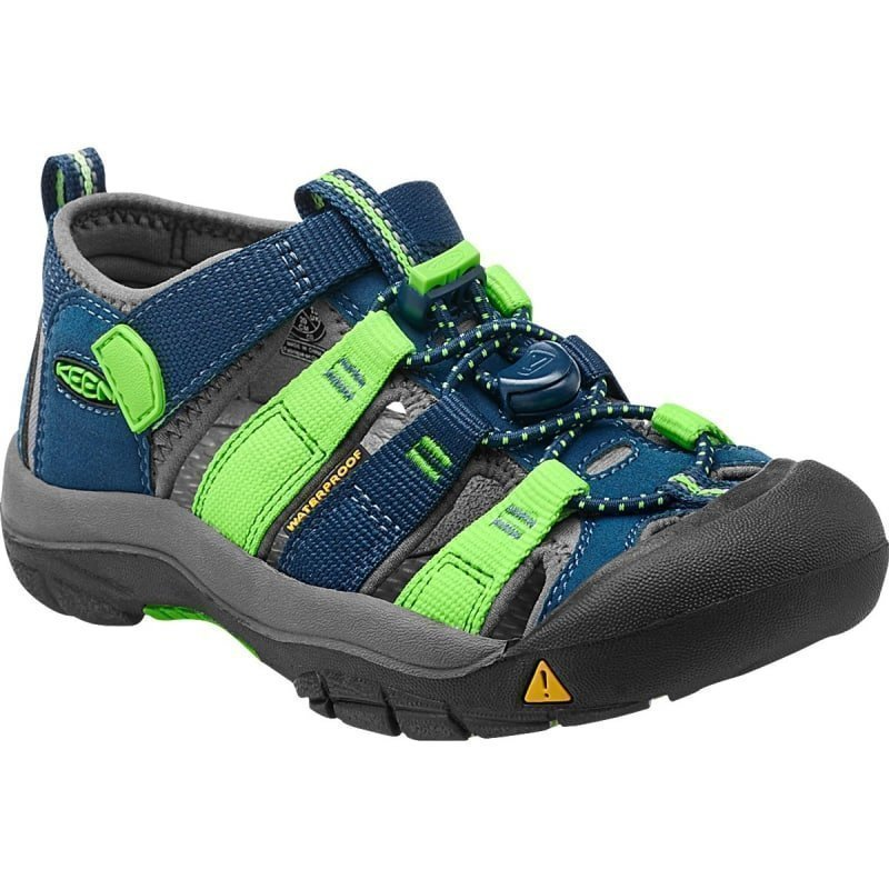 Keen Newport H2 Youth US 3/EU 35 Poseidon/Jasmine Green Multi
