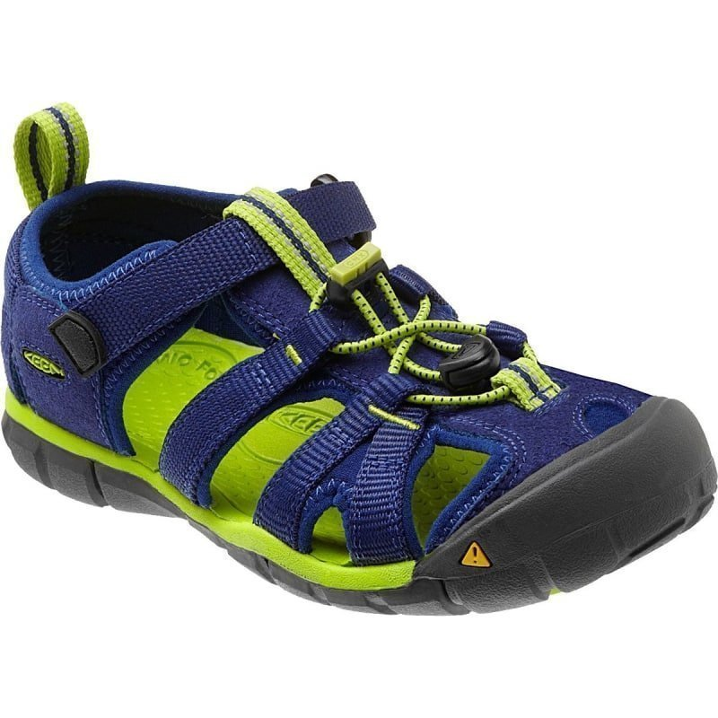 Keen Tots Seacamp II CNX US 4/EU 19 Blue Depths/Lime Green