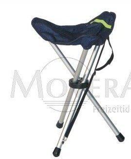 Kevyt tripod stool jakkara sininen