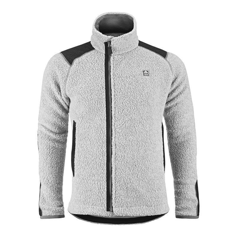 Klättermusen Men's Skoll Zip L Light Grey