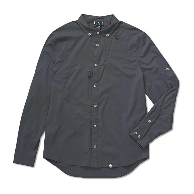 Klättermusen Tyr Shirt Men's L Dark Grey