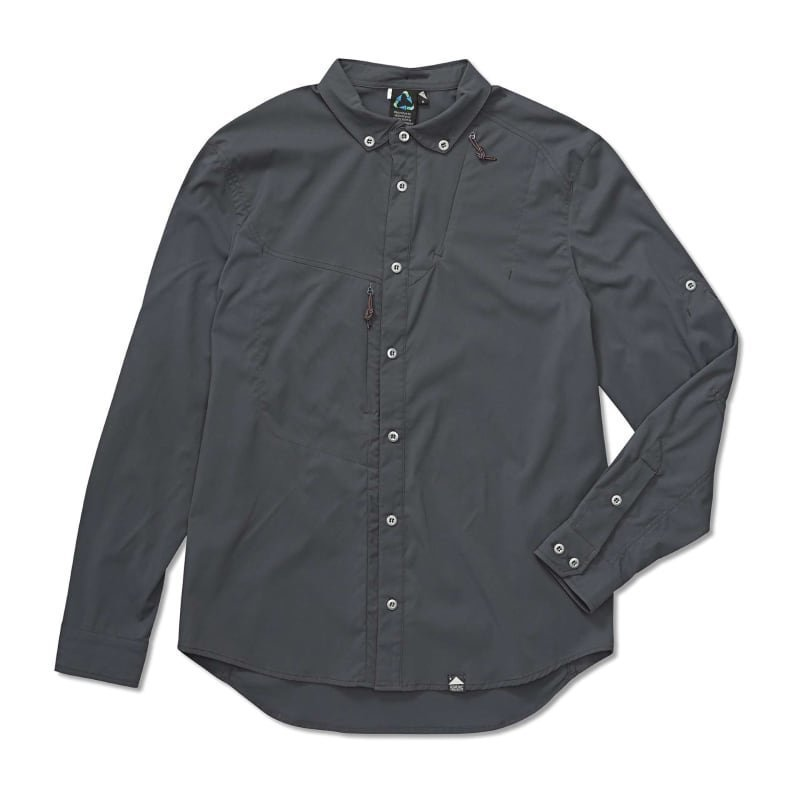 Klättermusen Tyr Shirt Men's M Dark Grey