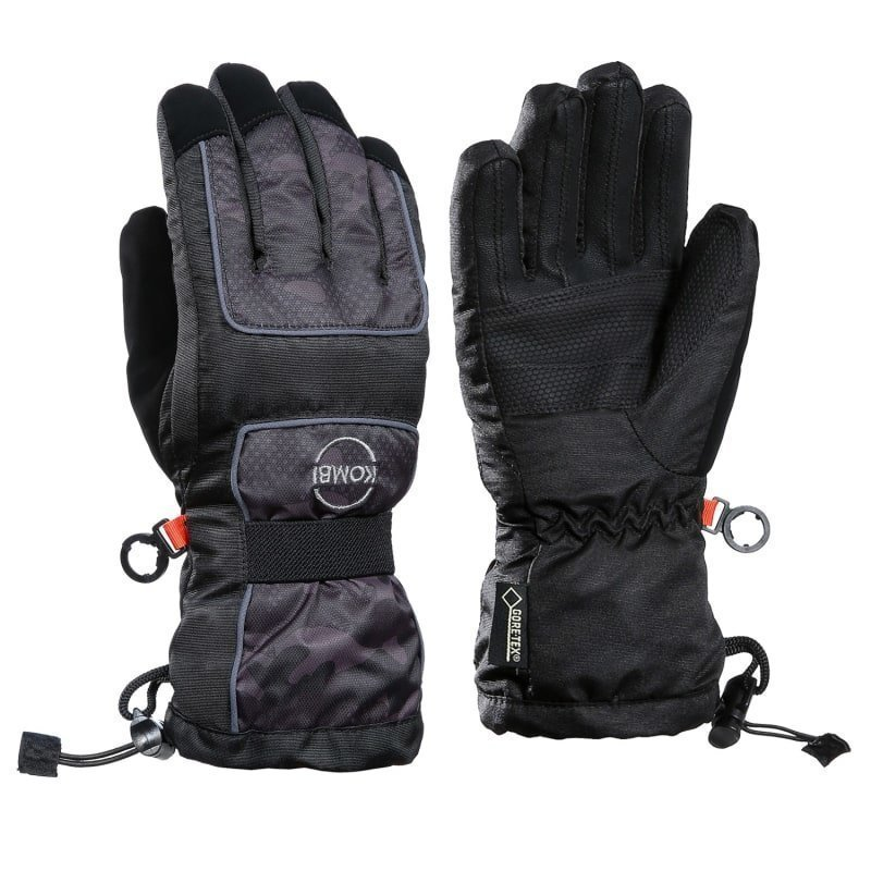 Kombi Champion Junior Glove Gore-Tex S Black Camo Dots
