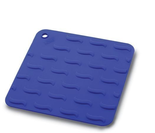 Lekuen silikoninen patalappu sininen