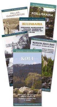 Lemmenjoki Geolog.Retkeilyk. 1:50 000