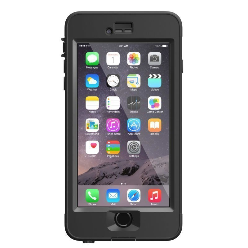 LifeProof NUUD Case Iphone 6+ V2 ONESIZE Black
