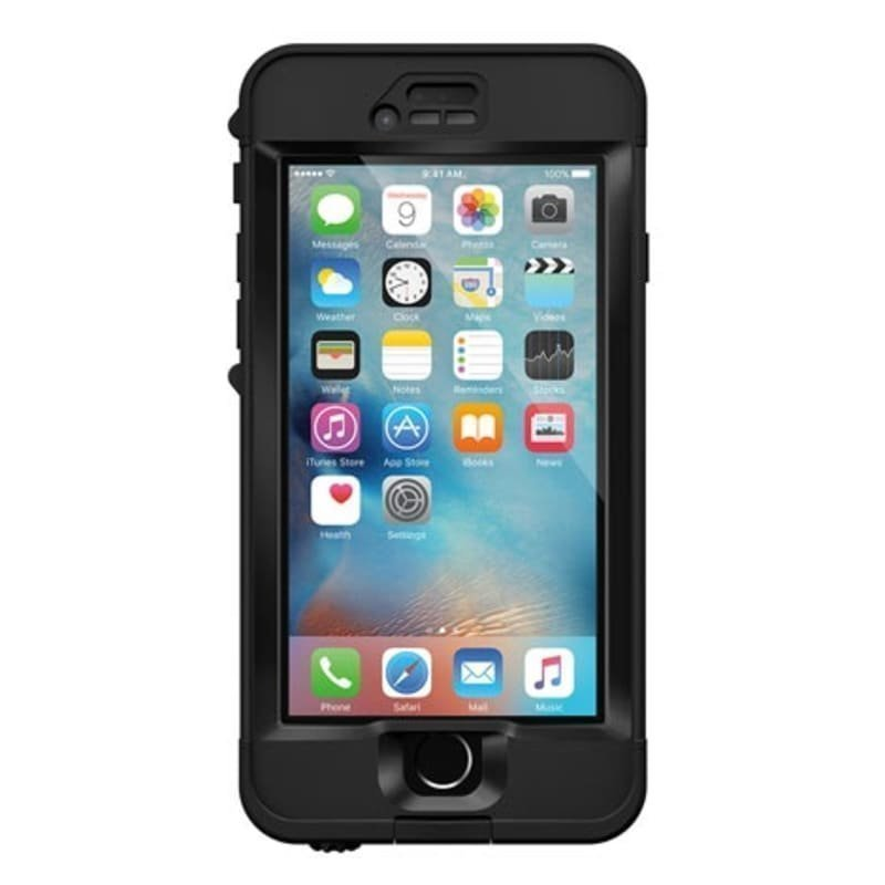 LifeProof Nuud Case Iphone 6S 1SIZE Black