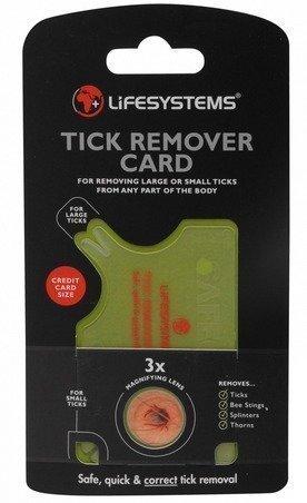 Lifesystems Tick Remover Card punkinpoistaja