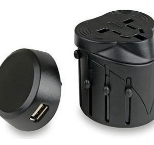 Lifesystems Universal Travel Adaptor with USB