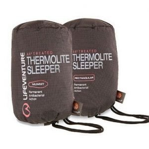Lifeventure AXP Thermolite Sleeper rectangular matkalakana