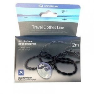 Lifeventure Travel Clothes Line - matkapyykkinaru