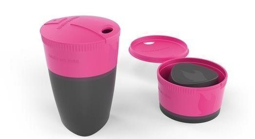 Light My Fire Pack-up-Cup kokoontaittuva muki fuschia