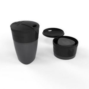 Light My Fire Pack-up-Cup kokoontaittuva muki musta