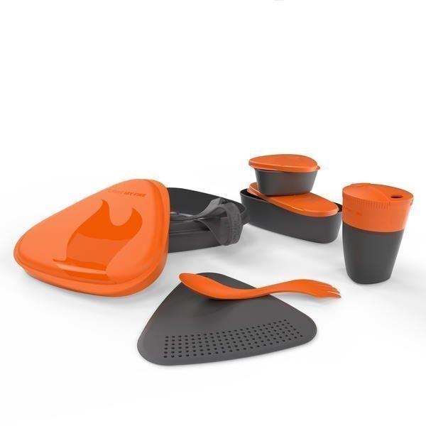 Light My Fire matka-astiasarja kupeilla oranssi