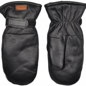 Lindberg Moose Leather Mitten Musta 8