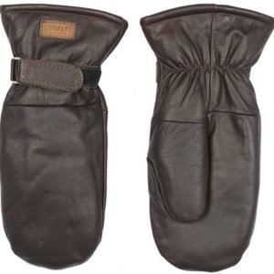 Lindberg Moose Leather Mitten Ruskea 10