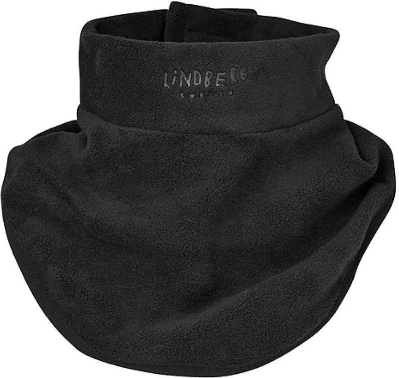 Lindberg Neck Warmer Classic Jr Musta