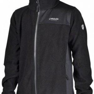 Lindberg Sävar Fleece Jacket Musta 140