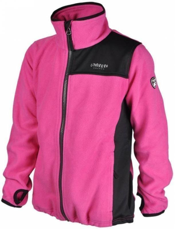 Lindberg Sävar Fleece Jacket Pink 150