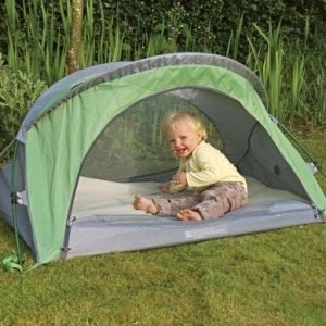 Littlelife Arc 2 Travel Cot matkasänky pienille lapsille (vihreä)