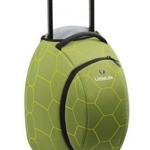 Littlelife lasten matkalaukku kilpikonna