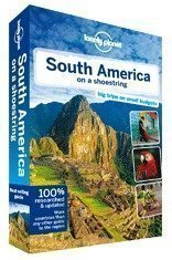 Lonely Planet South America on a shoestring travel guide