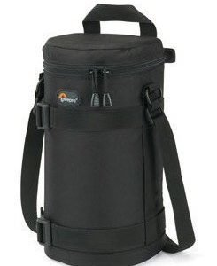Lowepro Lens Case 11 x 26cm Musta