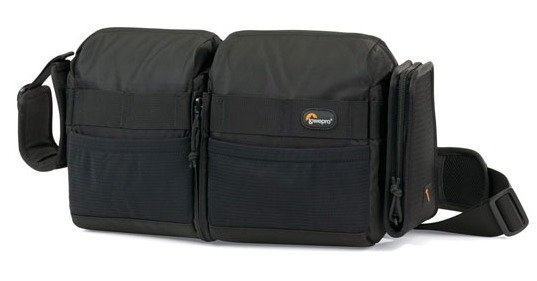 Lowepro S&F Audio Utility Bag 100 Musta