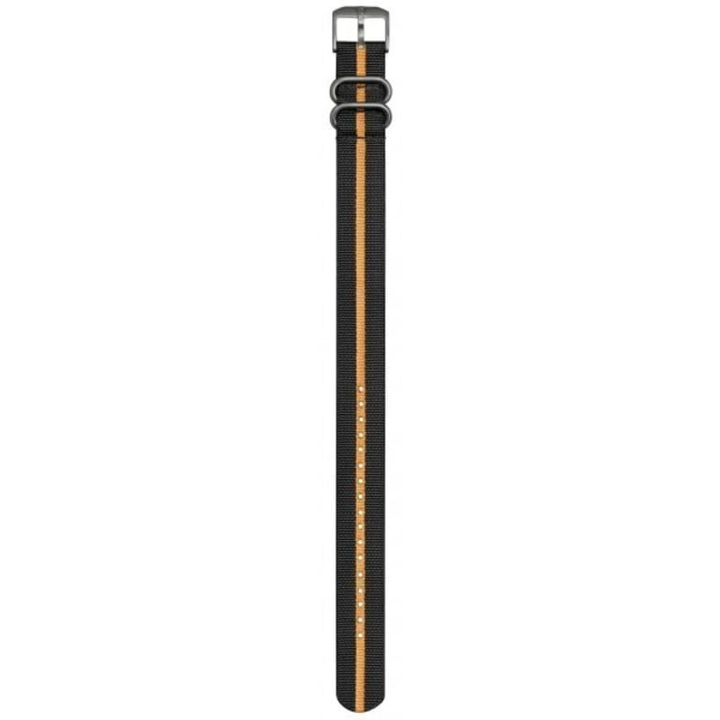 Luminox Nato Strap 23mm Black/Orange Stripe