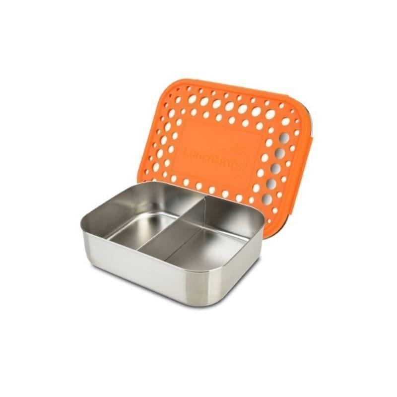 Lunchbots Duo Orange Dots OS Orange