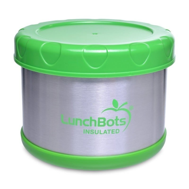Lunchbots Insulated Food Container Blue 4 Lime