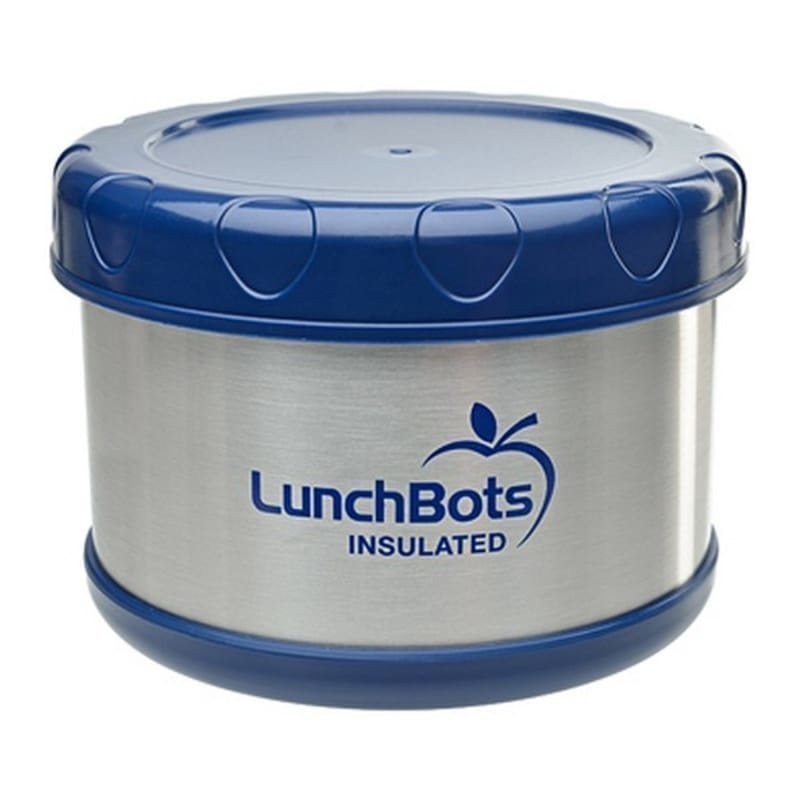 Lunchbots Insulated Food Container Blue