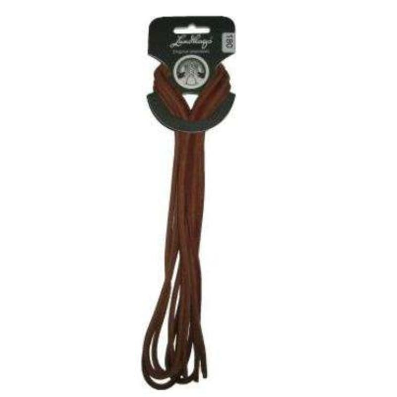 Lundhags Leather Laces 180 CM Brown