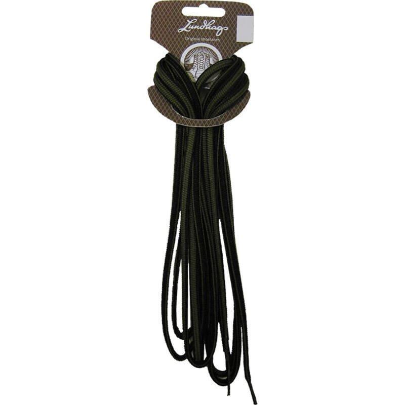 Lundhags Shoe Laces 150 CM 150 Black/Light Grey