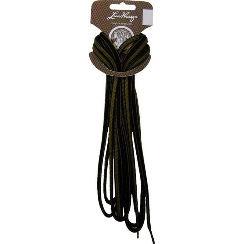 Lundhags Shoe Laces 165 CM 165 Black/Rush