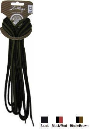 Lundhags Shoe Laces Musta 180