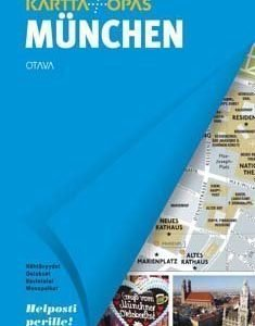 München kartta + opas