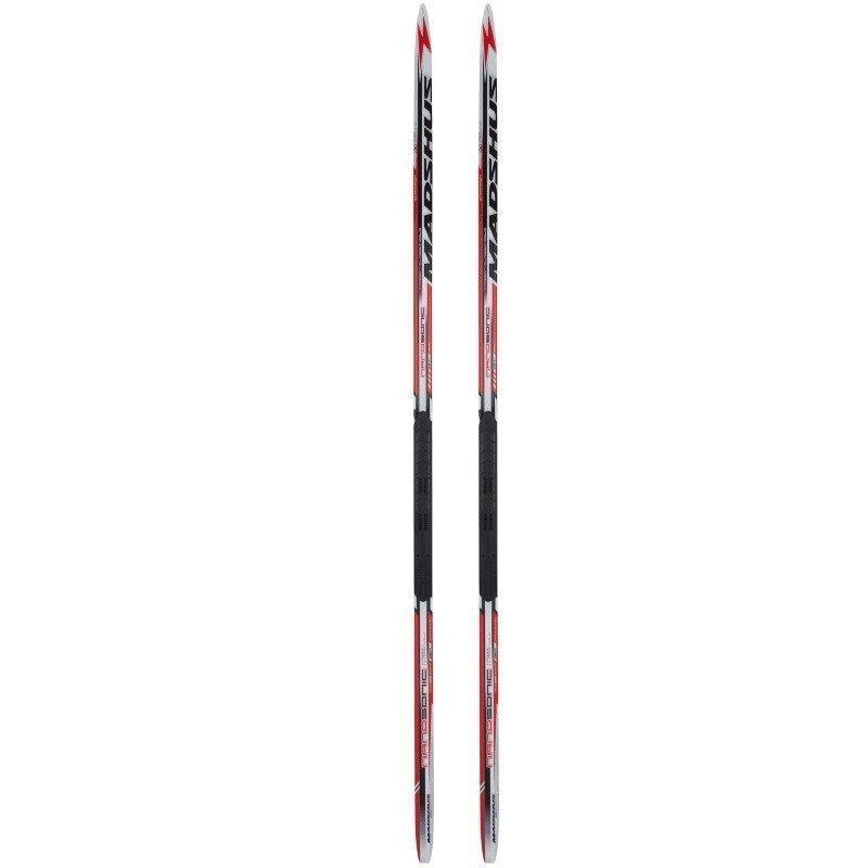 Madshus Nanosonic Carbon Classic Cold 195 (70-80 KG) Red/White/Black