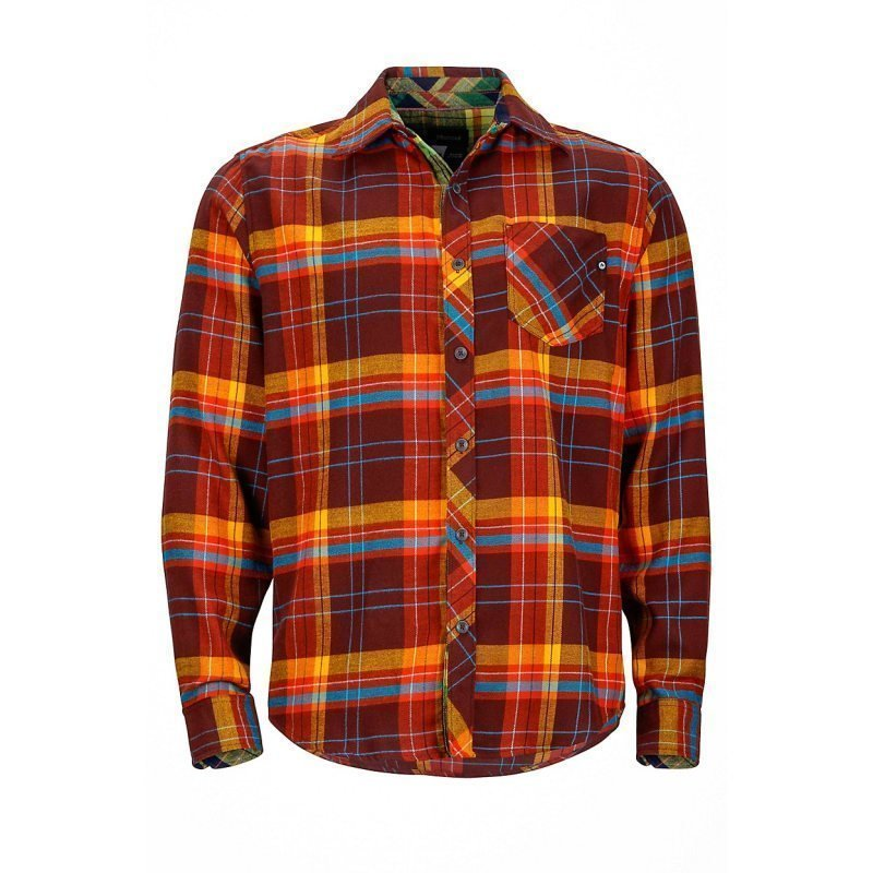 Marmot Anderson Flannel LS M/L Red Night