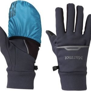 Marmot Connect Trail Glove Sinimusta L