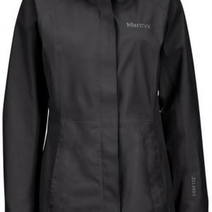 Marmot Essential Long Jacket Women's Musta XL