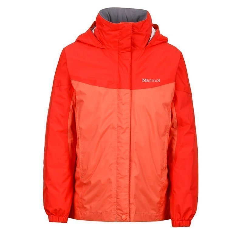 Marmot Girl's PreCip Jacket M EMBERGLOW/RED APPLE