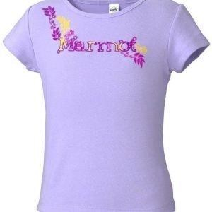 Marmot Girl's Whimsy Tee Shirt Lila XS