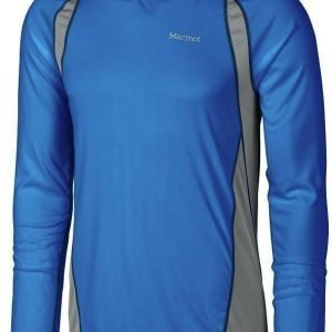 Marmot Interval LS Sininen XL