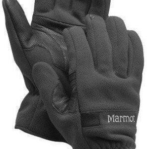 Marmot Windstopper Glove Musta M