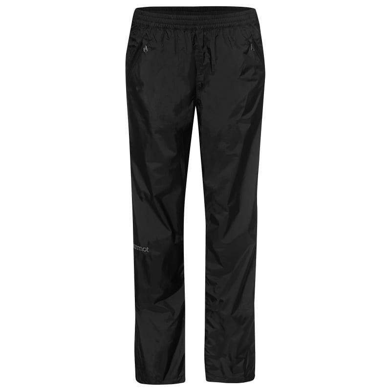 Marmot Women's PreCip Full Zip Pant L Black