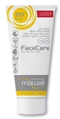Mawaii FaceCare 75 ml tai 30ml aurinkorasva kasvoille