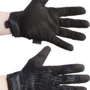 Mechanix Original Glove mustat mustalla tekstillä