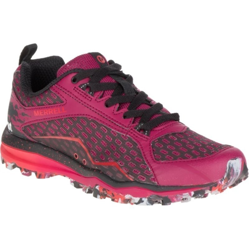 Merrell All Out Crush Tough Mudder W 40 Beet Red